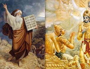 המסע של משה וארג'ונה